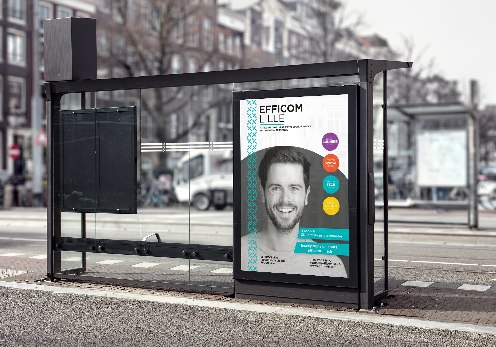 Affiches Efficom Lille